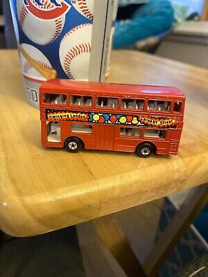 $ CDN13.39 • Buy Vintage Matchbox Superfast No 17 The Londoner Red Double Decker Bus Nice Lesney