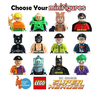 £3.99 • Buy Genuine Lego DC Superheroes Used Minifigures   Pick From List