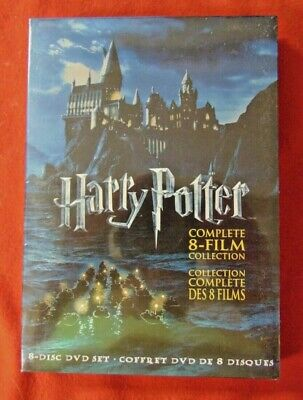 $ CDN42.62 • Buy Harry Potter: Complete 8-Film Collection (New DVD, 8-Disc Set) English/French