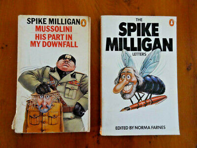 2 Paperback Books By Spike Milligan – In English • 1.99£