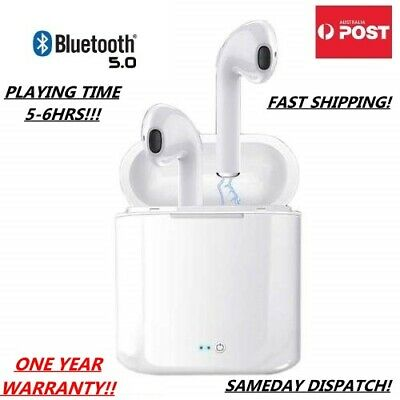 AU29.95 • Buy TWS Wireless Bluetooth EarphonesEarbuds Headphone Touch Control IOS Android