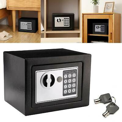 £25.89 • Buy 4.6l Money Cash Safe Box Office Home Safety Case Electronic Password Security