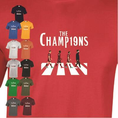 Champions T Shirt Liverpool Football LFC Fans BPL Birthday Gift Men White Tee • 9.99£