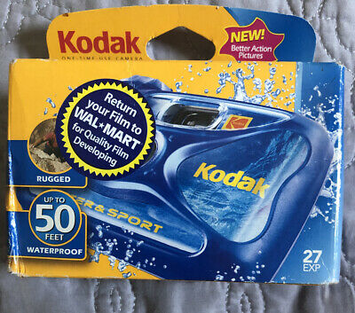 £7.80 • Buy Kodak Underwater Disposable Camera Sport Waterproof 35mm Film 27 EXP 2006