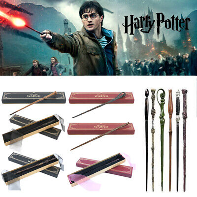 £10.99 • Buy Harry Potter Metal Magic Wand Slytherin Hermione Dumbledorea Wand Gifts Boxed