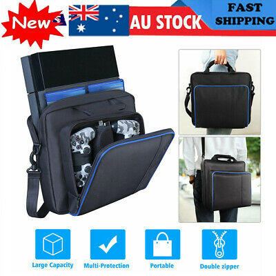 AU23.87 • Buy PlayStation 4 PS4 Game Console Accessories Travel Carry Case Shoulder Bag