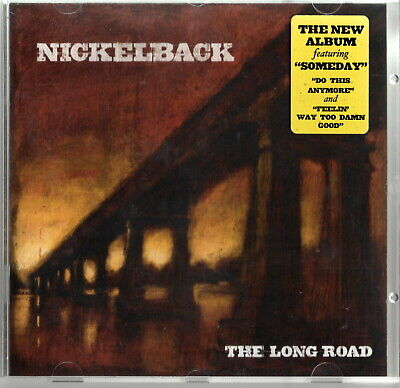 NICKELBACK: 'The Long Road' CD With Original Hype Sticker • 4.99£