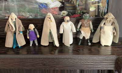 $ CDN26.70 • Buy Vintage Star Wars Lot With Accessories Lot 6 Figures 1980 - 1983