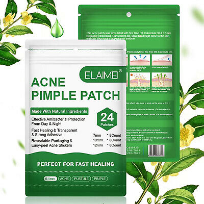 AU3.99 • Buy Acne Pimple Removal Patch Face Spot Invisible Hydrocolloid Treatment Sticker 24