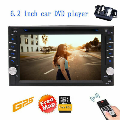 AU143.99 • Buy 7  2 Din Car Stereo Bluetooth Video MP5 Player Map GPS Radio With Reverse Camera