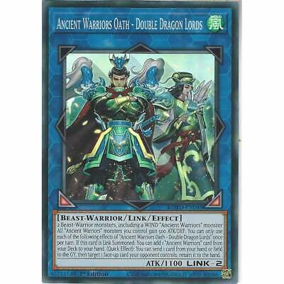 ROTD-EN048 Ancient Warriors Oath - Double Dragon Lords 1st Ed Super Rare YuGiOh • 1£