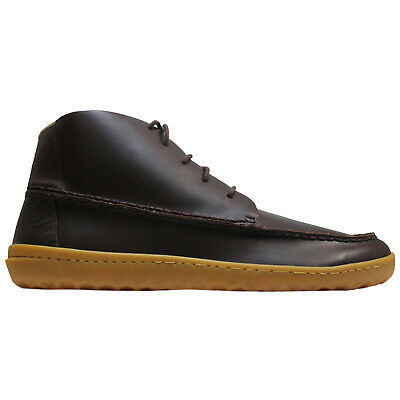 Vivobarefoot Gobi Mocc Leather Casual Lace-Up Moccasin Boots Mens Trainers • 170.12£