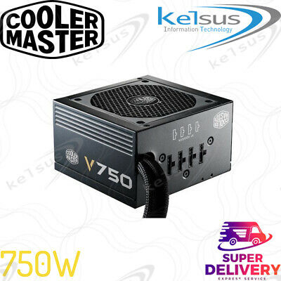 Cooler Master V750 Modular RS-750-AMAA-G1 Compact 750W 80 PLUS Gold PSU • 74.99£