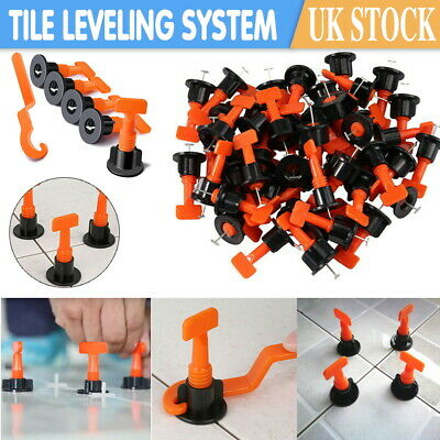 50-200pcs Tile Leveling System Kits Tile Spacer Wall Floor Tool Construction • 7.99£