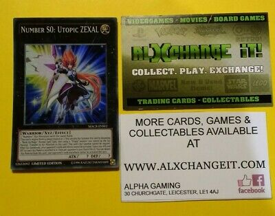 YuGiOh! MACR-ENSE2 Number S0: Utopic Zexal | Super |  Limited Edition • 5.94£