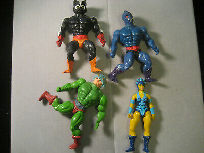 $29.99 • Buy Vintage MOTU Masters Of The Universe Figure Lot Of 4 Man At Arms Webstor MORE