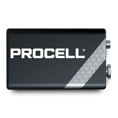 5 X Duracell Procell 9v Pp3 Block Alkaline Batteries Mn1604 Replaces Industrial • 6.95£