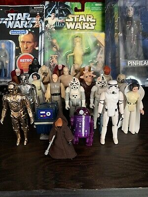 $ CDN32.71 • Buy Vintage Star Wars Lot 21 Figures With Accessories First 12 Big Eyes Early Bird