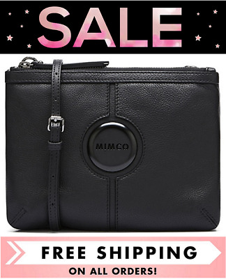 AU138 • Buy Mimco Mim Couch Hip Bag Matte Black Hardware Bnwt Dustbag Rrp$199- Free Postage