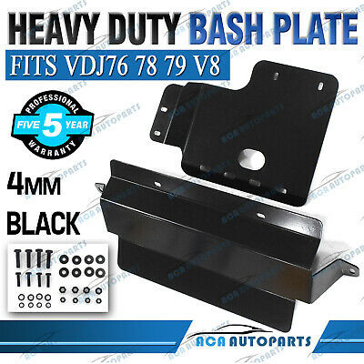 AU270 • Buy Bash Plate Fits Toyota Landcruiser VDJ 76 78 79 V8 Radiator & Gearbox Guard 4mm