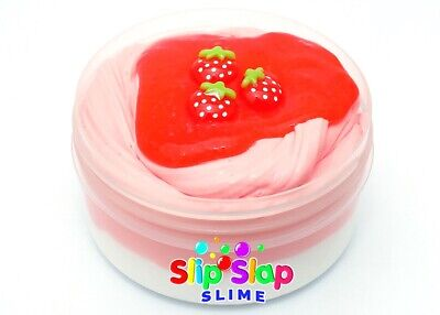 AU19.95 • Buy Super Strawberry Swirl Pink Butter Slime - Scented Slimes   Australia Made