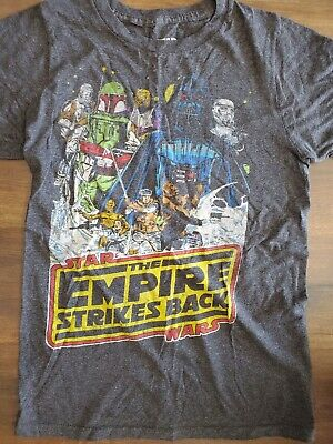 $2 • Buy Vintage Star Wars Shirt The Empire Strikes Back Logo Mens' Graphic T-Shirt Sz S