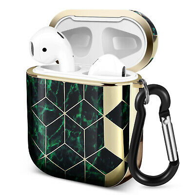 $ CDN18.99 • Buy Protective Case Cover For Apple AirPods 1st/2nd Gen With Carabiner Green