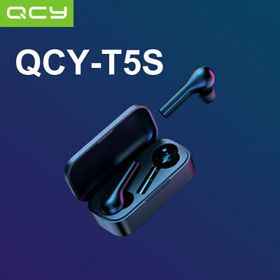 $ CDN37.31 • Buy QCY T5S Bluetooth Headset Low Latency Earphone/Game Mode/Android Animation Pop