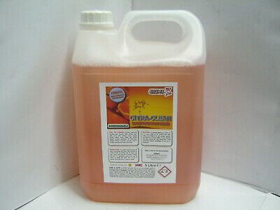 Citra-Clean 5 Litre Concentrate Citrus Surface Cleaner Grease Dirt Degreaser 5 L • 14.99£
