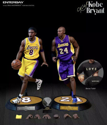 $629.99 • Buy Enterbay NBA Masterpiece Collection 1:6 Scale Kobe Bryant 2-Pack Action Figure