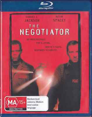 AU24.90 • Buy THE NEGOTIATOR New Blu-Ray KEVIN SPACEY SAMUEL L JACKSON ***