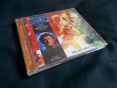 CD Audiobook Doctor Who Big Finish #125 Paper Cuts - 6th & Charley • 25£
