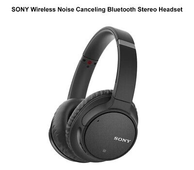AU219 • Buy Sony Genuine  WH-CH700N Bluetooth Wireless Noise Cancelling Headphones - Black