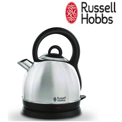 AU59.70 • Buy 1.8L Russell Hobbs Cordless Electric Kettle Stainless Steel Dome Water Heating