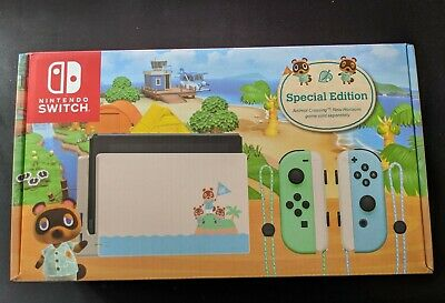 AU590 • Buy Nintendo Switch Animal Crossing Limited Edition Console (Brand New)