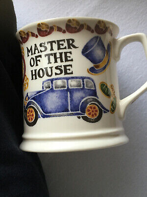PAST TIMES MUG . MASTER OF THE HOUSE .NUMBER 7905 . OXFORD. Display Used Only • 5£