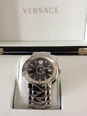 Auth Mens Versace Watch Atelier Ebel Klq99 Serial No.a440830 • 350£