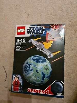 Lego 9674 Star Wars Naboo Starfighter - Planets - Series 1 - NEW • 13£