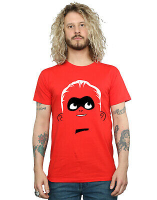 Disney Men's Incredibles 2 Dash Face T-Shirt • 16.99£