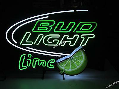 $ CDN211.73 • Buy Bud Light Green Lime Logo Neon Sign Beer Bar Light FREE SHIPPING [BEST DESIGNED]