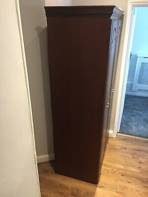 Brown Wardrobe Good Condition  • 50£