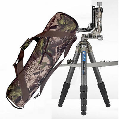 Camouflage 75/80/85/95CM Camera Tripod Carry Travel Bag Case For Manfrotto Benro • 27.99£