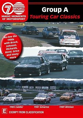 Group A Touring Car Classics (Magic Moments Of Motorsport Dvd) Brand New!! • 8.23£