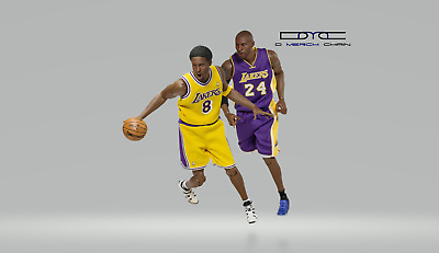 $499 • Buy Kobe Bryant 1:6 Scale Real Masterpiece Action Figure ENTERBAY NBA Collection F/S