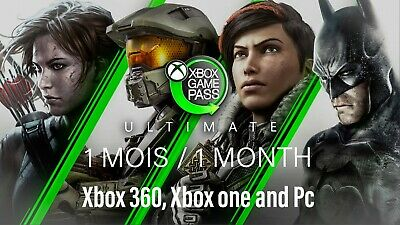 $ CDN4.15 • Buy XBOX LIVE GAME PASS ULTIMATE – 1 MOIS / 1 MONTH (2X14 Days) | DIGITAL CODE.