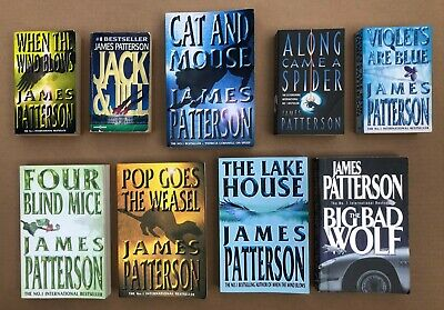 AU30 • Buy JAMES PATTERSON Books...bulk Lot. Good Well Used Condition X 9