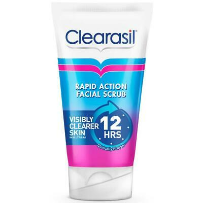 1x Clearasil Ultra Rapid Action Daily Spot Fighting Face Scrub 125ml • 9.95£