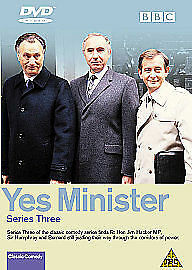 Yes Minister - Series 3 (DVD, 2003) • 4£