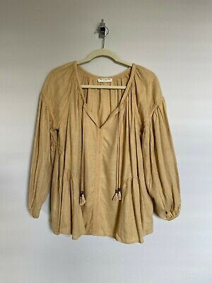 AU150 • Buy Spell & The Gypsy Collective Bella Blouse Caramel S New Without Tags