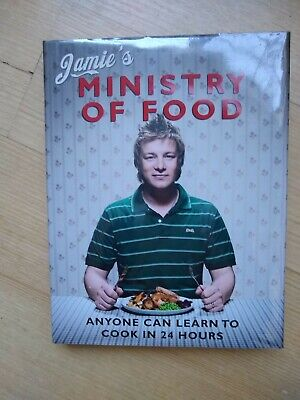 AU14 • Buy JAMIE OLIVER MINISTRY OF FOOD Cookbook Cook Book LIKE NEW CONDITION Chef